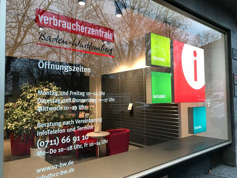 Schaufenstergestaltung Stuttgart