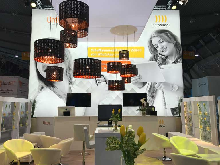 Messestand Lounge