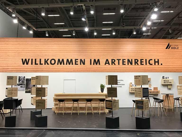 Messestand Bau München